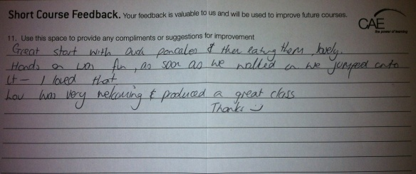 Feedback Essential Dumplings