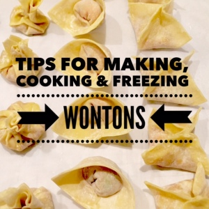 Tips for - - - Wontons